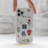 mobile cover design sticker printed